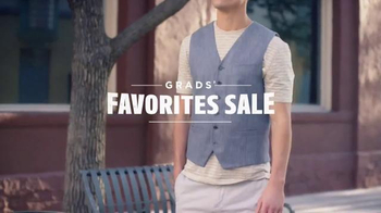 Men's Wearhouse Grads' Favorites Sale TV Spot, 'Suits and Shoes'