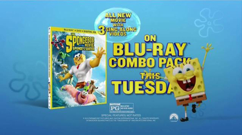 The Spongebob Movie: Sponge Out of Water Blu-Ray Combo Pack TV Spot - 1289 commercial airings