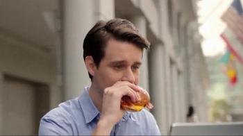 Dunkin' Donuts Pretzel Roll Breakfast Sandwiches TV Spot, 'Game Changer' - Thumbnail 3