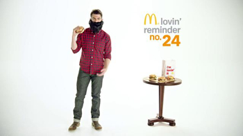 McDonald's Sirloin Third Pound Burgers TV Spot, 'Beard' Ft. Max Greenfield - 20 commercial airings