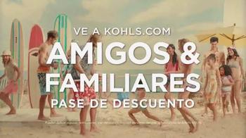 Kohl's Pase de Amigos y Familiares TV Spot, 'Verano tropical' [Spanish] - Thumbnail 10