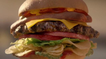 Carl's Jr. Most American Thickburger TV Spot, 'Because America' - Thumbnail 2