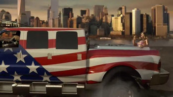 Carl's Jr. Most American Thickburger TV Spot, 'Because America' - Thumbnail 4
