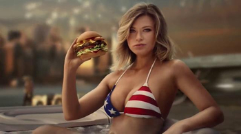 Carl's Jr. Most American Thickburger TV Spot, 'Because America' - Thumbnail 8