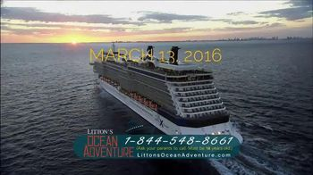 Litton's Weekend Adventure Ocean Adventure Cruise TV Spot, 'Celebrity'