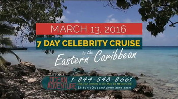 Litton's Weekend Adventure Ocean Adventure Cruise TV Spot, 'Celebrity' - Thumbnail 3