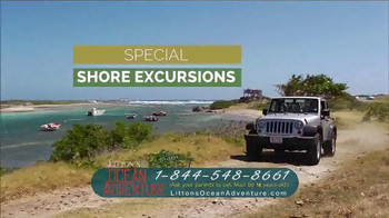 Litton's Weekend Adventure Ocean Adventure Cruise TV Spot, 'Celebrity' - Thumbnail 5