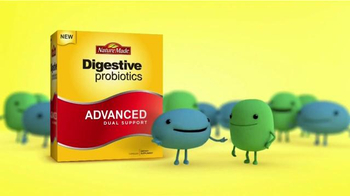 Nature Made Digestive Probiotics TV Spot, 'Friendly Probiotics' - Thumbnail 1