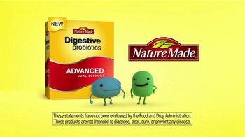 Nature Made Digestive Probiotics TV Spot, 'Friendly Probiotics' - Thumbnail 6