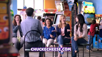 Chuck E. Cheese's New Menu TV Spot, 'More Mom Friendly'