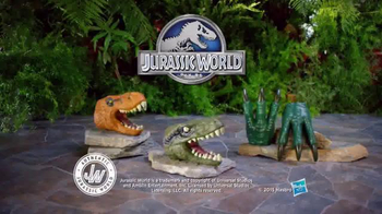 Jurassic World Chomping Jaws and Raptor Claws TV Spot, 'Jaws and Claws'