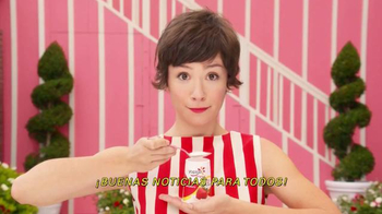 Yoplait Original Strawberry TV Spot, \'Buenas noticias\' [Spanish]