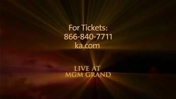Cirque du Soleil Ka TV Spot, 'You Won't Believe It' - Thumbnail 7