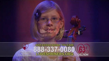 Shriners Hospitals For Children TV Spot, 'Because of You' - Thumbnail 5