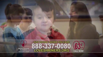 Shriners Hospitals For Children TV Spot, 'Because of You' - Thumbnail 6