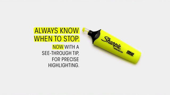 Sharpie Highlighter TV Spot, 'Always Know When to Stop: Status Updates' - Thumbnail 9