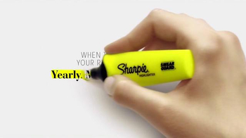 Sharpie Highlighter TV Spot, 'Always Know When to Stop: Status Updates'