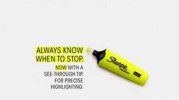 Sharpie Highlighter TV Spot, 'Always Know When to Stop: Status Updates' - Thumbnail 7