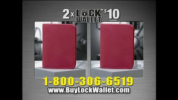 Lock Wallet TV Spot, 'Secure and Fashionable' - Thumbnail 10