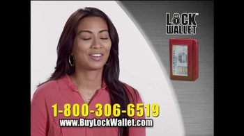 Lock Wallet TV Spot, 'Secure and Fashionable' - Thumbnail 8