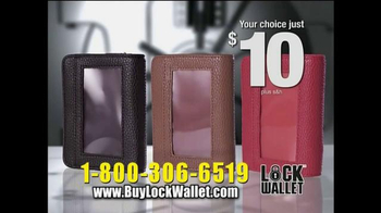 Lock Wallet TV Spot, 'Secure and Fashionable' - Thumbnail 9