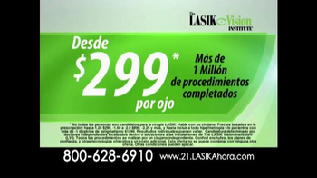 The LASIK Vision Institute TV Spot, 'Cirugía de ojos' [Spanish] - Thumbnail 3