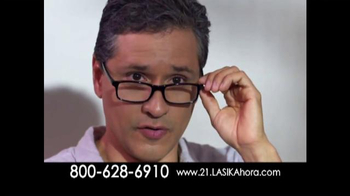 The LASIK Vision Institute TV Spot, 'Cirugía de ojos' [Spanish]