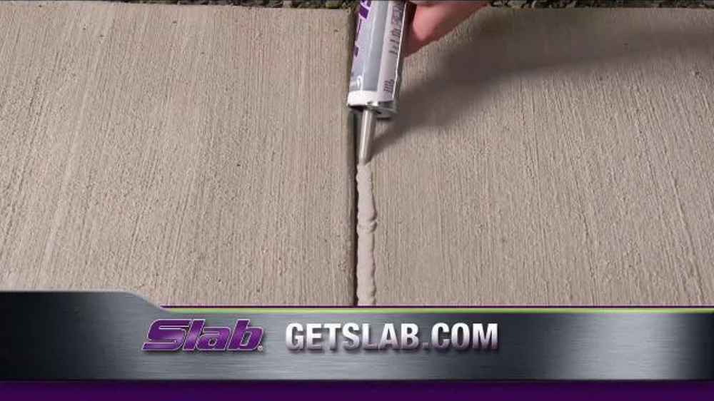 how to fix cracks in concrete slab