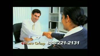 411 Law Group TV Spot, 'Equipo experto de abogados' [Spanish]