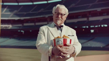 KFC TV Spot, 'Baseball' Featuring Darrell Hammond - 1184 commercial airings