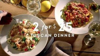 Olive Garden Tuscan Dinner TV Spot, 'Dinner for Two' [Spanish] - Thumbnail 8