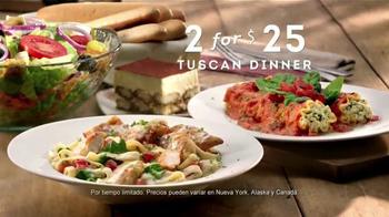 Olive Garden Tuscan Dinner TV Spot, 'Dinner for Two' [Spanish] - Thumbnail 3