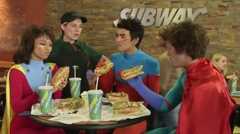 Subway Chipotle Chicken Melt TV Spot, 'Superheroes' - 5 commercial airings