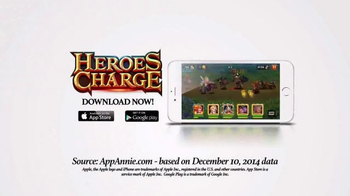 Heroes Charge TV Spot, 'Freeze Your Opponent' - Thumbnail 10
