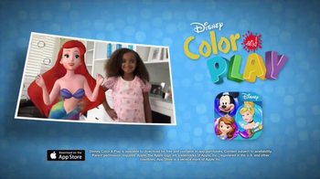 Disney Color and Play App TV Spot, 'Drawings Come to Life' - Thumbnail 10