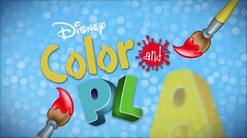 Disney Color and Play App TV Spot, 'Drawings Come to Life' - Thumbnail 4