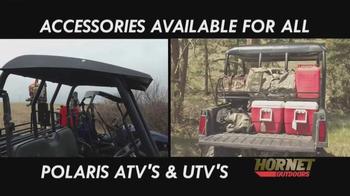 Hornet Outdoors TV Spot, 'Polaris ATV's and UTV's' - Thumbnail 2