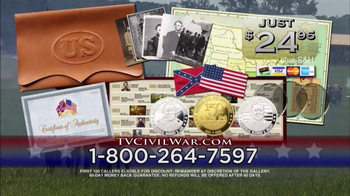 The United States Commemorative Gallery TV Spot, 'Civil War Medallion' - Thumbnail 10