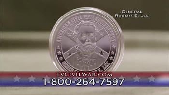 The United States Commemorative Gallery TV Spot, 'Civil War Medallion' - Thumbnail 5