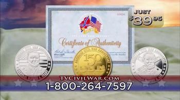 The United States Commemorative Gallery TV Spot, 'Civil War Medallion' - Thumbnail 6