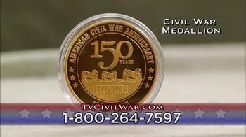 The United States Commemorative Gallery TV Spot, 'Civil War Medallion'