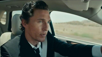 2015 Lincoln MKC TV Spot, 'I Just Liked It' Featuring Matthew McConaughey - Thumbnail 4