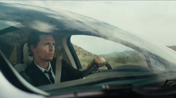 2015 Lincoln MKC TV Spot, 'I Just Liked It' Featuring Matthew McConaughey - Thumbnail 6