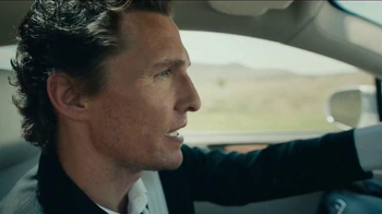 2015 Lincoln MKC TV Spot, 'I Just Liked It' Featuring Matthew McConaughey - Thumbnail 7