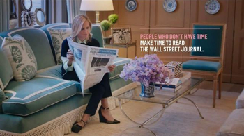 The Wall Street Journal TV Spot, 'Tory Burch Makes Time to Read the WSJ'