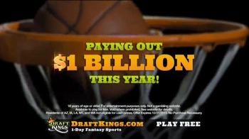 DraftKings Fantasy Basketball TV Spot, 'Millionaire Maker' - Thumbnail 5