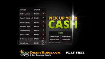 DraftKings Fantasy Basketball TV Spot, 'Millionaire Maker' - Thumbnail 8