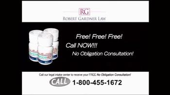 Robert Gardner Law TV Spot, 'Benicar' - Thumbnail 9