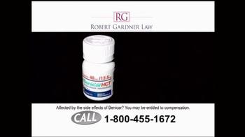 Robert Gardner Law TV Spot, 'Benicar' - Thumbnail 2