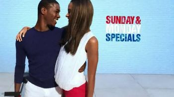 Macy's Memorial Day Sale TV Spot, 'Suits, Bras and Swimwear'